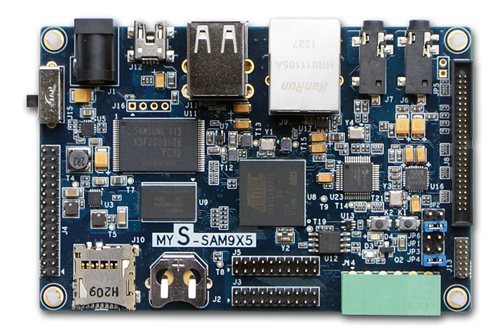 MYS-SAM9X5 SBC board