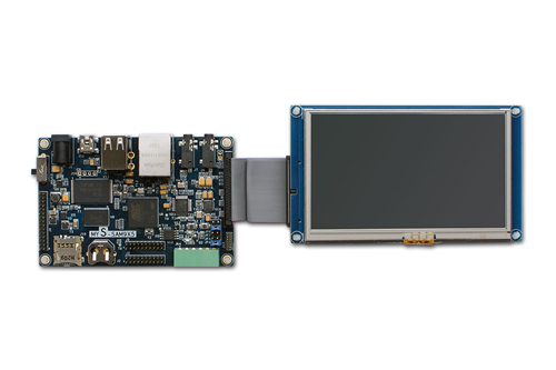 MYS-SAM9X5 SBC board with LCD