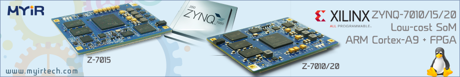 Xilinx Zynq CPU Modules
